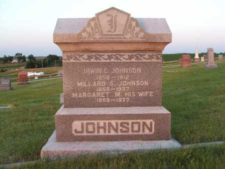JOHNSON, MILLARD S. - Frontier County, Nebraska | MILLARD S. JOHNSON - Nebraska Gravestone Photos