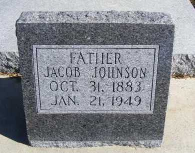 JOHNSON, JACOB - Frontier County, Nebraska | JACOB JOHNSON - Nebraska Gravestone Photos