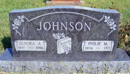 JOHNSON, ELNORA A. - Frontier County, Nebraska | ELNORA A. JOHNSON - Nebraska Gravestone Photos