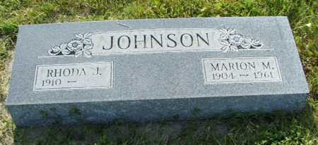 JOHNSON, RHODA J. - Frontier County, Nebraska | RHODA J. JOHNSON - Nebraska Gravestone Photos