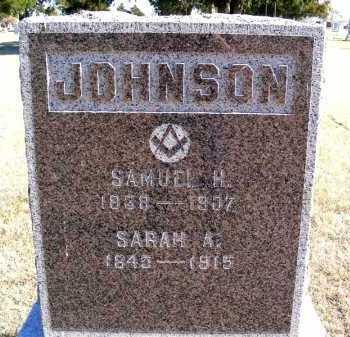 JOHNSON, SAMUEL H. - Frontier County, Nebraska | SAMUEL H. JOHNSON - Nebraska Gravestone Photos