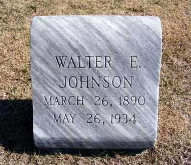JOHNSON, WALTER E. - Frontier County, Nebraska | WALTER E. JOHNSON - Nebraska Gravestone Photos