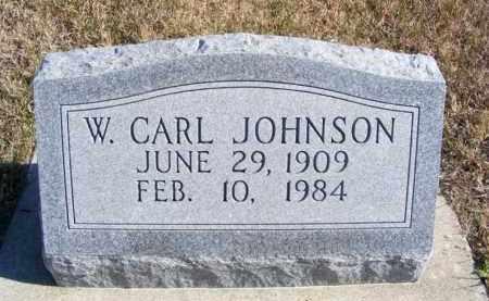 JOHNSON, W. CARL - Frontier County, Nebraska   W. CARL JOHNSON - Nebraska Gravestone Photos