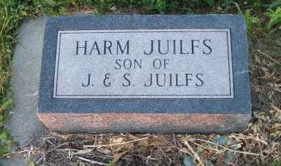 JUILFS, HARM - Frontier County, Nebraska | HARM JUILFS - Nebraska Gravestone Photos