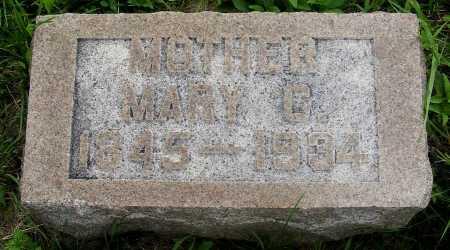 KITCHEN, MARY C. - Frontier County, Nebraska | MARY C. KITCHEN - Nebraska Gravestone Photos