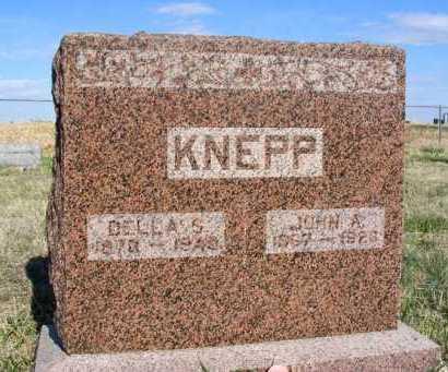 KNEPP, JOHN A. - Frontier County, Nebraska | JOHN A. KNEPP - Nebraska Gravestone Photos