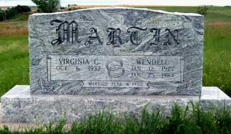 MARTIN, VIRGINIA C. - Frontier County, Nebraska | VIRGINIA C. MARTIN - Nebraska Gravestone Photos