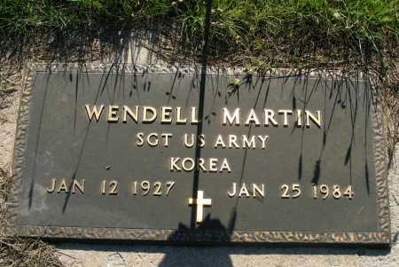 MARTIN, WENDELL - Frontier County, Nebraska   WENDELL MARTIN - Nebraska Gravestone Photos