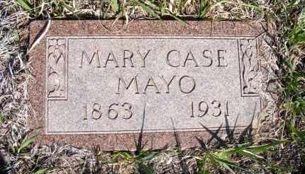 CASE MAYO, MARY - Frontier County, Nebraska | MARY CASE MAYO - Nebraska Gravestone Photos