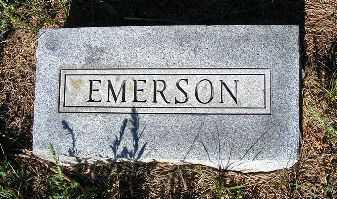 MCLAUGHLIN, EMERSON - Frontier County, Nebraska | EMERSON MCLAUGHLIN - Nebraska Gravestone Photos