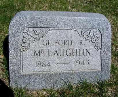 MCLAUGHLIN, GILFORD R. - Frontier County, Nebraska | GILFORD R. MCLAUGHLIN - Nebraska Gravestone Photos