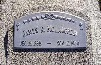 MCLAUGHLIN, JAMES R. - Frontier County, Nebraska   JAMES R. MCLAUGHLIN - Nebraska Gravestone Photos