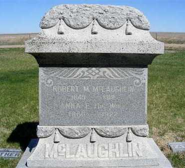 MCLAUGHLIN, ROBERT M. - Frontier County, Nebraska | ROBERT M. MCLAUGHLIN - Nebraska Gravestone Photos