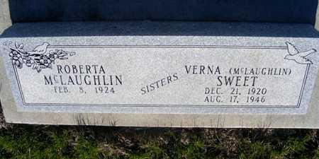 MCLAUGHLIN, ROBERTA - Frontier County, Nebraska | ROBERTA MCLAUGHLIN - Nebraska Gravestone Photos