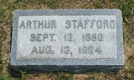 MCNICKLE, ARTHUR STAFFORD - Frontier County, Nebraska | ARTHUR STAFFORD MCNICKLE - Nebraska Gravestone Photos