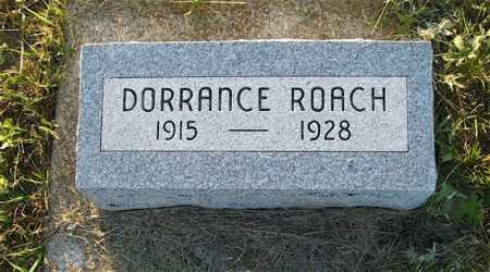 MESSERSMITH, DORRANCE ROACH - Frontier County, Nebraska | DORRANCE ROACH MESSERSMITH - Nebraska Gravestone Photos
