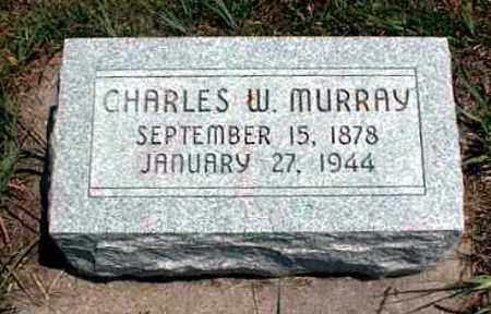 MURRAY, CHARLES W. - Frontier County, Nebraska | CHARLES W. MURRAY - Nebraska Gravestone Photos