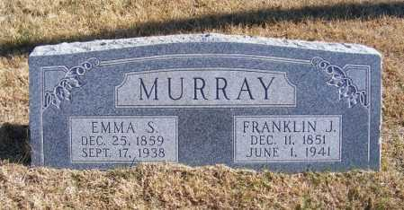 MURRAY, EMMA S. - Frontier County, Nebraska | EMMA S. MURRAY - Nebraska Gravestone Photos