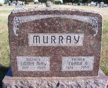 MURRAY, EMMA MAY - Frontier County, Nebraska | EMMA MAY MURRAY - Nebraska Gravestone Photos