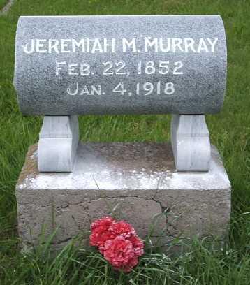 MURRAY, JEREMIAH M. - Frontier County, Nebraska   JEREMIAH M. MURRAY - Nebraska Gravestone Photos