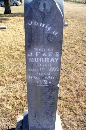 MURRAY, JOHN H. - Frontier County, Nebraska | JOHN H. MURRAY - Nebraska Gravestone Photos