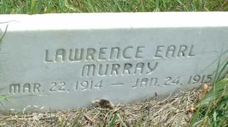 MURRAY, LAWRENCE EARL - Frontier County, Nebraska | LAWRENCE EARL MURRAY - Nebraska Gravestone Photos
