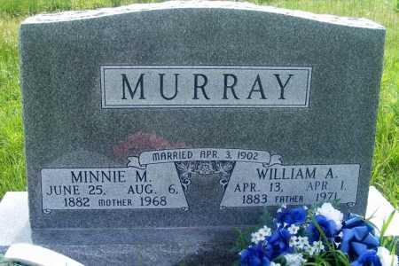 MURRAY, MINNIE M. - Frontier County, Nebraska | MINNIE M. MURRAY - Nebraska Gravestone Photos