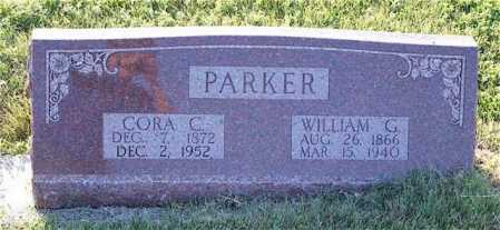 PARKER, WILLIAM G. - Frontier County, Nebraska | WILLIAM G. PARKER - Nebraska Gravestone Photos