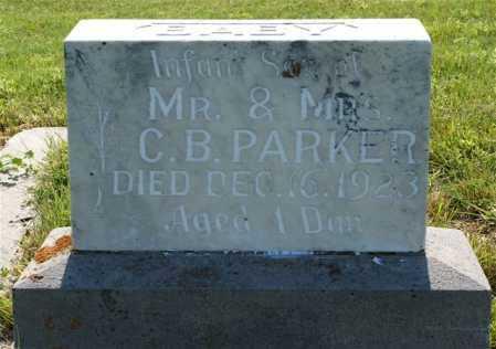 PARKER, INFANT SON - Frontier County, Nebraska | INFANT SON PARKER - Nebraska Gravestone Photos