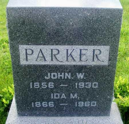 PARKER, IDA M. - Frontier County, Nebraska | IDA M. PARKER - Nebraska Gravestone Photos