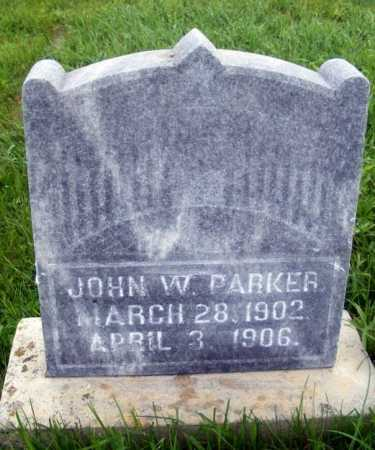 PARKER, JOHN W. - Frontier County, Nebraska | JOHN W. PARKER - Nebraska Gravestone Photos