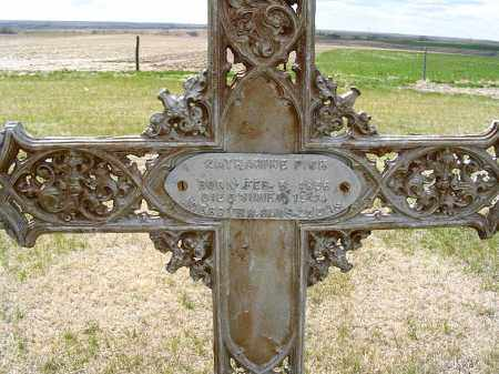 KRUMMEICH PICK, KATHERINE - Frontier County, Nebraska | KATHERINE KRUMMEICH PICK - Nebraska Gravestone Photos