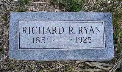 RYAN, RICHARD R. - Frontier County, Nebraska | RICHARD R. RYAN - Nebraska Gravestone Photos