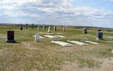 *SAINT ANN CEMETERY, VIEW OF - Frontier County, Nebraska | VIEW OF *SAINT ANN CEMETERY - Nebraska Gravestone Photos