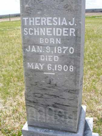 VOGEL SCHNEIDER, THERESIA J. - Frontier County, Nebraska | THERESIA J. VOGEL SCHNEIDER - Nebraska Gravestone Photos