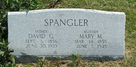 SPANGLER, DAVID G. - Frontier County, Nebraska | DAVID G. SPANGLER - Nebraska Gravestone Photos