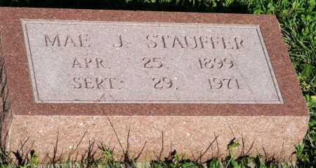 STAUFFER, MAE J. - Frontier County, Nebraska | MAE J. STAUFFER - Nebraska Gravestone Photos
