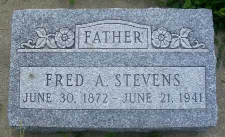 STEVENS, FRED A. - Frontier County, Nebraska | FRED A. STEVENS - Nebraska Gravestone Photos