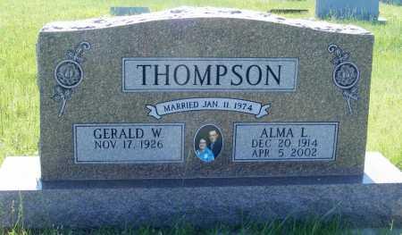 THOMPSON, GERALD W. - Frontier County, Nebraska | GERALD W. THOMPSON - Nebraska Gravestone Photos