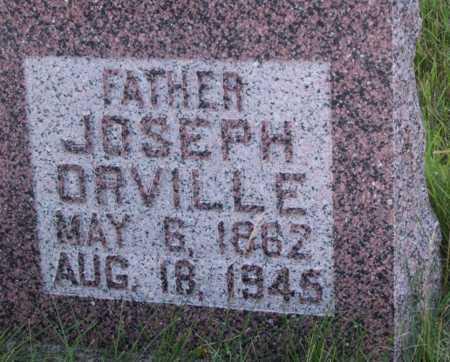 TILLOTSON, JOSEPH ORVILLE - Frontier County, Nebraska | JOSEPH ORVILLE TILLOTSON - Nebraska Gravestone Photos
