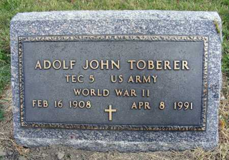 TOBERER, ADOLF JOHN - Frontier County, Nebraska | ADOLF JOHN TOBERER - Nebraska Gravestone Photos