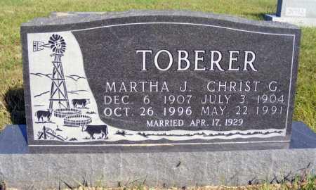 TOBERER, CHRIST G. - Frontier County, Nebraska | CHRIST G. TOBERER - Nebraska Gravestone Photos