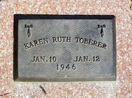 TOBERER, KAREN RUTH - Frontier County, Nebraska | KAREN RUTH TOBERER - Nebraska Gravestone Photos