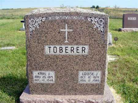 TOBERER, KARL J. - Frontier County, Nebraska | KARL J. TOBERER - Nebraska Gravestone Photos