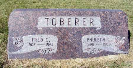 TOBERER, FRED C. - Frontier County, Nebraska | FRED C. TOBERER - Nebraska Gravestone Photos