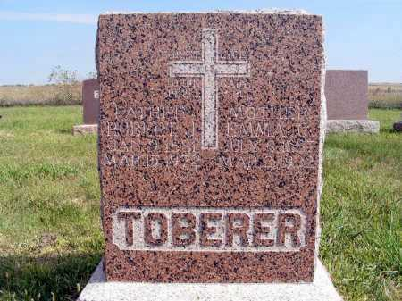 TOBERER, ROBERT J. - Frontier County, Nebraska   ROBERT J. TOBERER - Nebraska Gravestone Photos