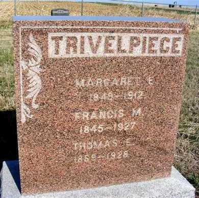 TRIVELPIECE, THOMAS E. - Frontier County, Nebraska | THOMAS E. TRIVELPIECE - Nebraska Gravestone Photos
