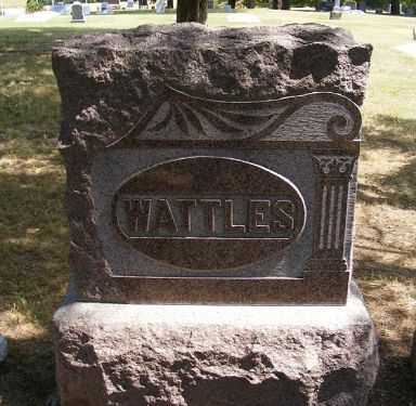 WATTLES, FAMILY - Frontier County, Nebraska | FAMILY WATTLES - Nebraska Gravestone Photos