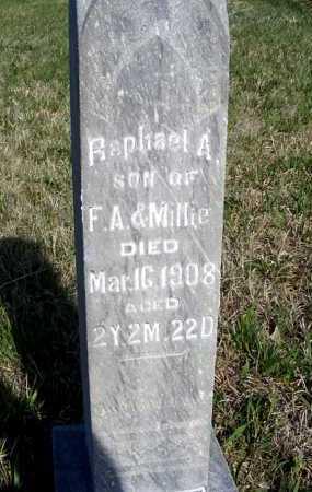 YOUNG, RAPHAEL A. - Frontier County, Nebraska | RAPHAEL A. YOUNG - Nebraska Gravestone Photos