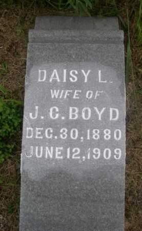 BOYD, DAISY L. - Gage County, Nebraska   DAISY L. BOYD - Nebraska Gravestone Photos
